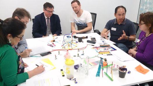 Gamification design sprint team work